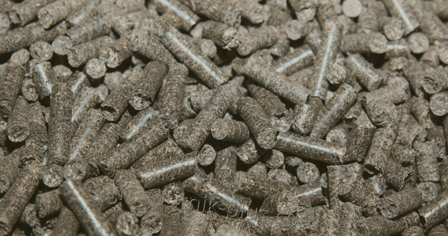 Пеллеты из лузги подсолнечника